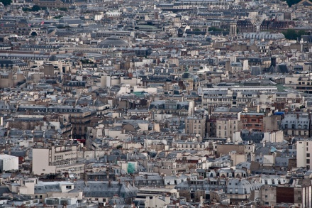 """The streets of Paris, seen from Montmartre"" by Joshua Veitch-Michaelis"